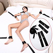 Bondage with Set Kit Bedroom Fun Adult Fetish Set Under Bed Bondage Restraint System