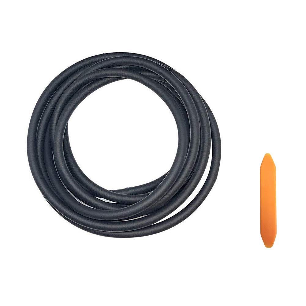 DEDC Model 3 Joint Pare Brise Toit Silencieux Joint R/éduit le Bruit du Vent du Toit Anti-poussi/ère 2,8 m