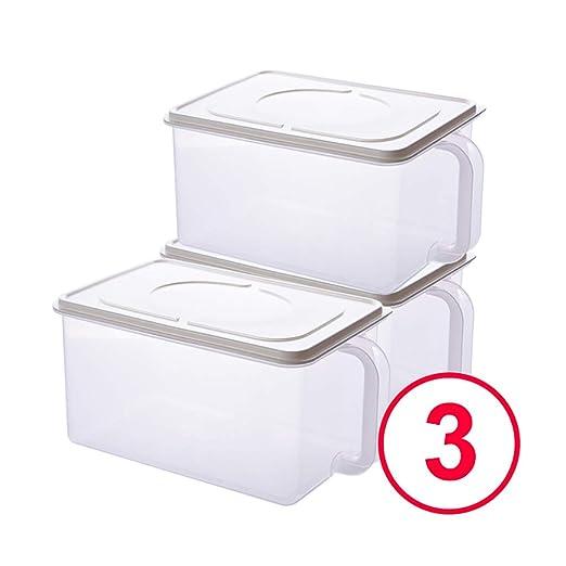 Recipientes para Alimentos 6.3L con tapas, libre de BPA ...