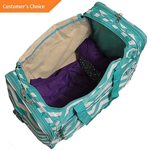 3725 Sandover World Traveler Chevron 16 Shoulder Duffle Bag 4 Colors Rolling Duffel NEW Model LGGG