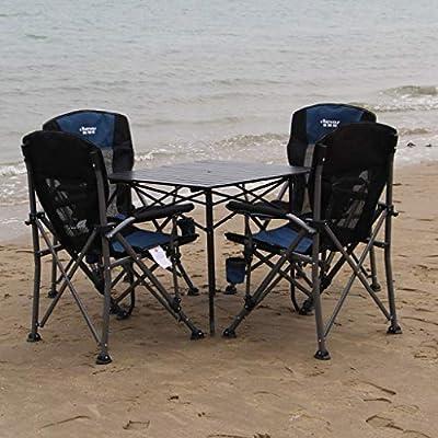LYZZDY Yxsd Mesa y sillas Plegables para Exteriores Juego de Mesa y sillas Plegables para Exteriores Juego de Mesa y sillas para Exteriores de Playa y Ocio: Amazon.es: Hogar