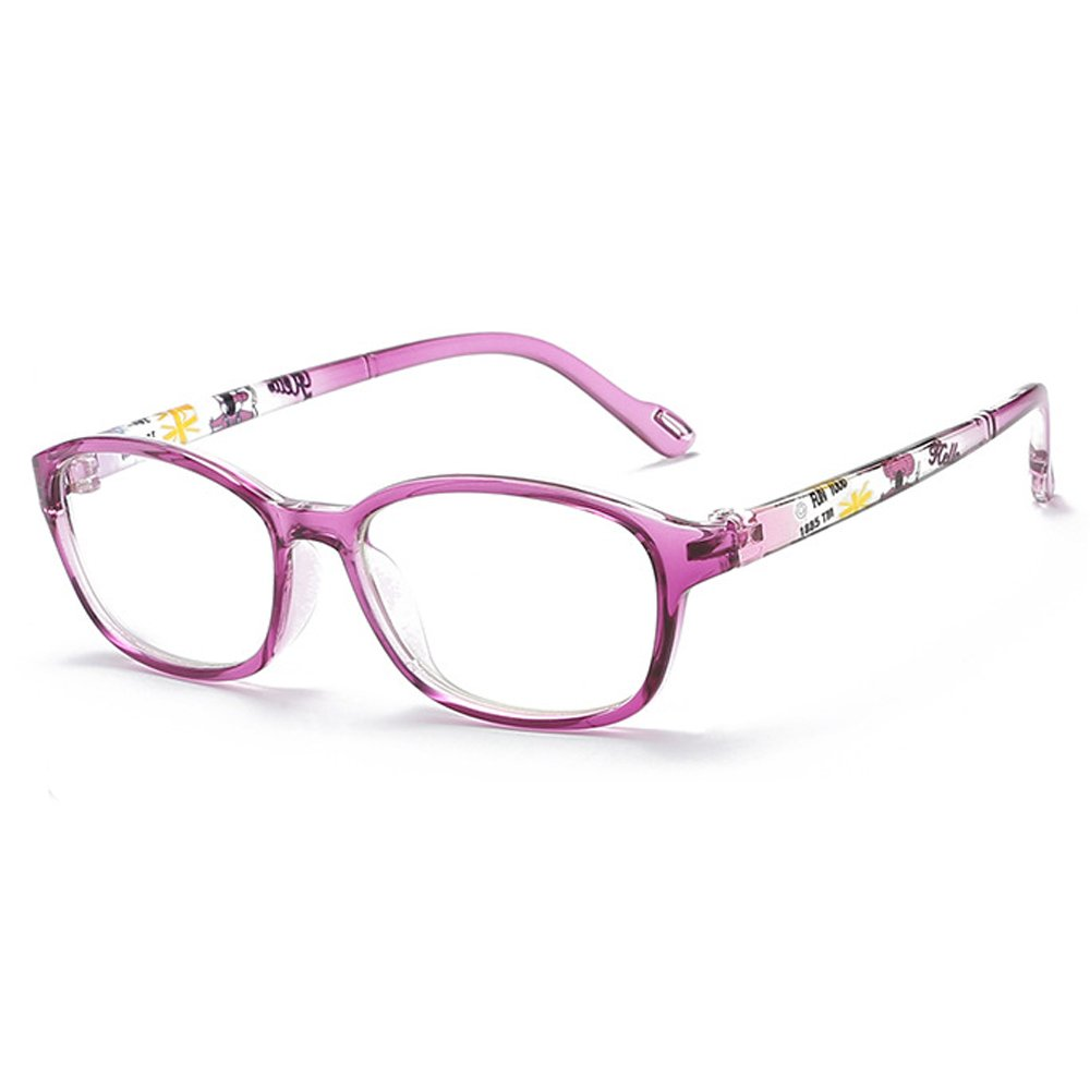 Fantia Non-Optical Frame Kids Eyeglasses Children Eyewear Age8-14 (C)