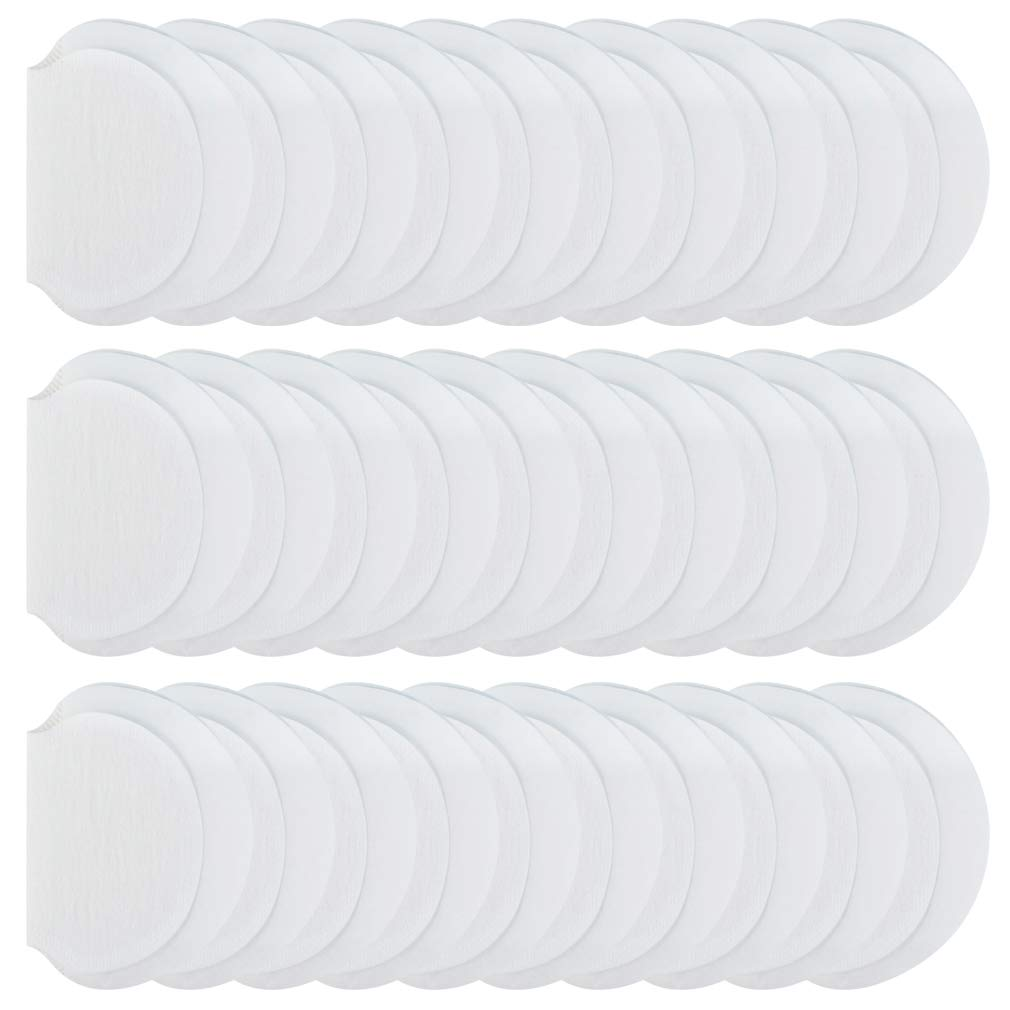 Yolyoo Underarm Sweat Pads,Fight Hyperhidrosis [ 80 Pack / 40 Pairs ] Disposable Dress Guards/Shields, Sweat Free Armpit Protection for Women and Men