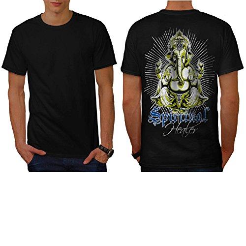 Spiritual Healer God Ganesha Men NEW L T-shirt Back   Wellcoda (Roman Godess)