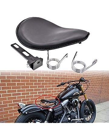 Marrone Sharplace Sella Sedile Monoposto Seat Con Staffa Di Montaggio Per Moto Cruiser Bobber Chopper Harley Honda Yamaha Kawasaki Suzuki