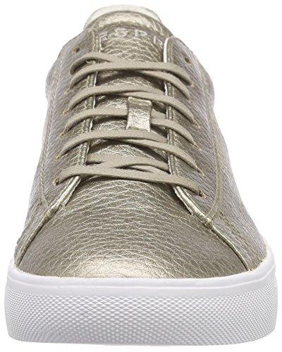 ESPRIT Damen Lizette Lace Up Sneaker Grün (265 pale khaki)