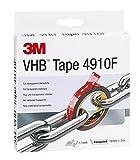 3M VHB Klebeband 4910F für transparente Werkstoffe, Transparent, 19 mm x 3 m, 1 mm