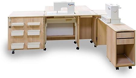 Comfort 4 | Mueble para máquina de coser | (Beech Ellmau, M (Air ...