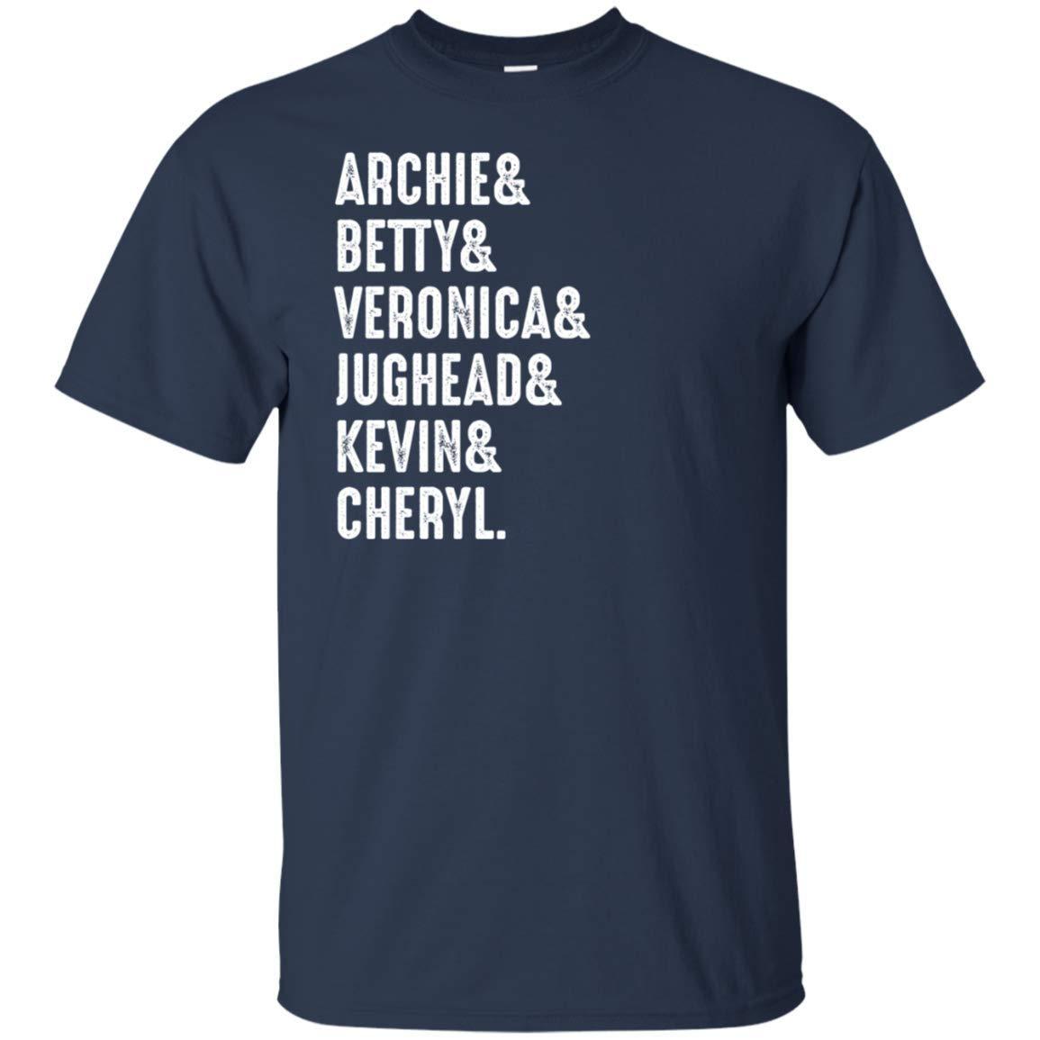 Oba Archie Betty Veronica Jughead Kevin Riverdale Tshirt