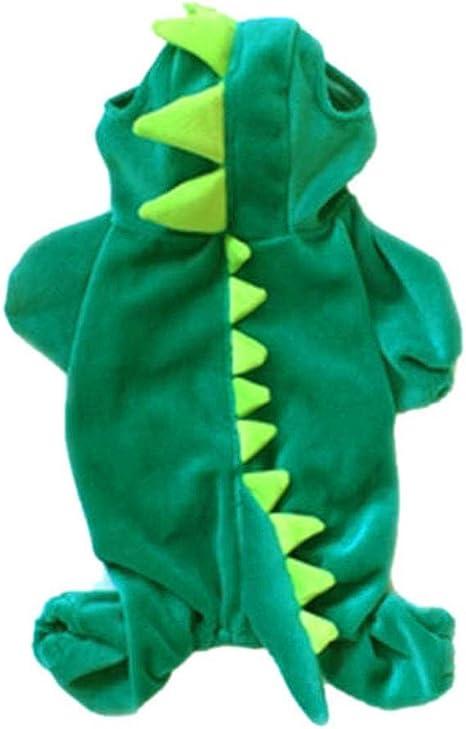moresave mascota disfraz de Halloween de dinosaurio de perro ...