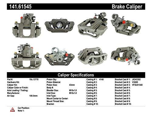 Centric 141-61545 Semi-Loaded Caliper