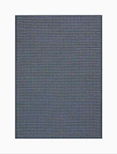 - Calvin Klein Home CK740 Seattle Area Rug, 5' x 7', Charcoal/White