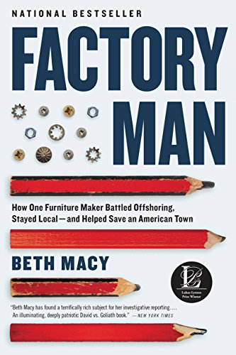 - Factory Man: How One Furniture Maker Battled Offshoring, Stayed Local - and Helped Save an American Town