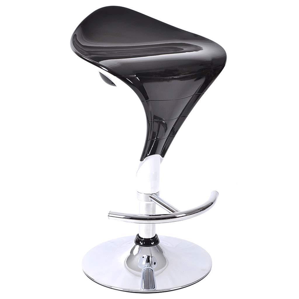Black YYHSND Bar Stool High Stool Lift Chair Bar Chair Modern Minimalist Bar Stool High Chair redating Bar Stool Barstool (color   Black)
