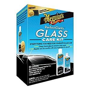 Meguiar's G8800 Perfect Clarity Glass Kit, 11 fl. oz, 1 Pack by Meguiar's
