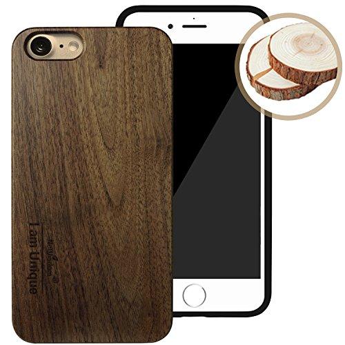 NeWisdom iPhone Handmade Wooden Rubber