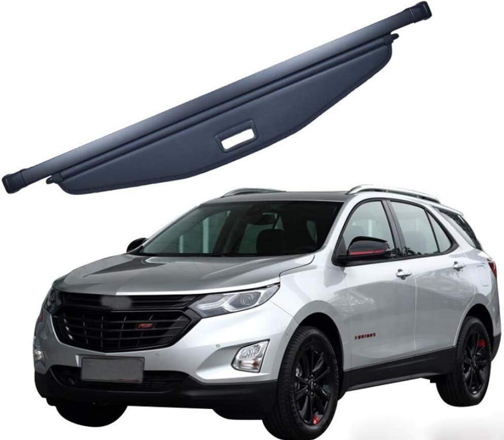 Powerty Retractable Cargo Cover for GMC Terrain Chevrolet Equinox 2018 2019 2020 Trunk Shielding Shade/Cargo Luggage Cover Carbon Fiber Texture