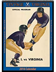 Virginia Cavaliers 2016 Vintage Football Calendar by Asgard Press (2015-09-15)
