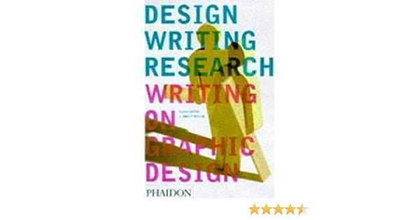 Design writing research ellen lupton 9780714838519 amazon books solutioingenieria Choice Image