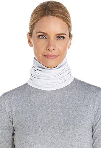 Unisex Neck Gaiter (Coolibar UPF 50+ Unisex UV Neck Gaiter - Sun Protective (Large/X-Large- White))