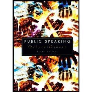 Public Speaking: Sixth Custom Publication