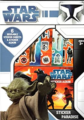 Star Wars pegatinas Paradise Pack 1: Amazon.es: Hogar