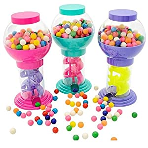 "9.75"" Twirling Gumball Machine - Assorted Colors"