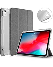 "Capa Apple iPad Pro 11"" WB Premium Antichoque Tecido Cinza Com Compartimento para Apple Pencil"