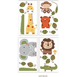 Kids Line Decals, Jungle Walk (Discontinued by Manufacturer)