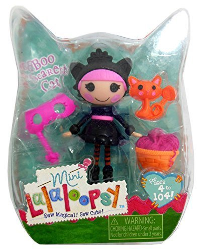 Mini Lalaloopsy Halloween Exclusive Boo Scaredy Cat by MGA Entertainment -