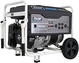 Pulsar 6,000W Portable Gas-Powered Generator