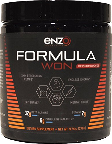 Formula Won - Advanced Stimulant Pre Workout by Enzo Nutrition