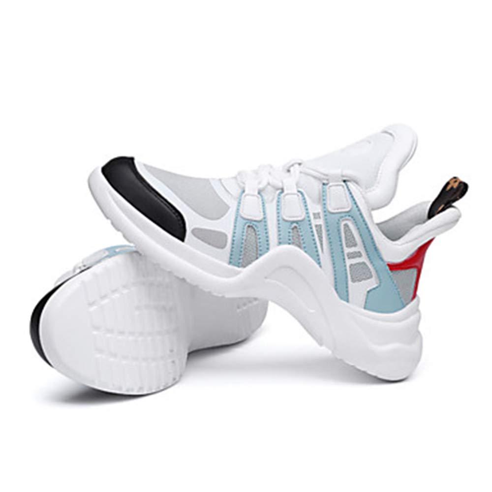 TTSchuhe Flacher Damen Schuhe Tüll Frühling Sommer Komfort Sneakers Flacher TTSchuhe Absatz Schwarz/Gelb / Blau ccbda8