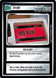 STAR TREK CCG 1E PREMIER LIMITED (B BORDER) RED ALERT 90C
