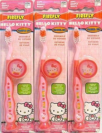 Amazon.com: FireFly Hello Kitty Travel Kit (3 Pack) by ...