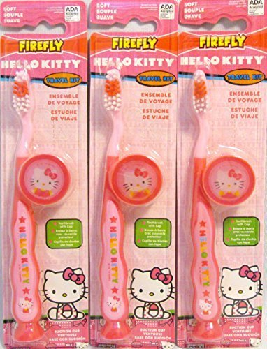 FireFly Hello Kitty Travel Kit (3 Pack)