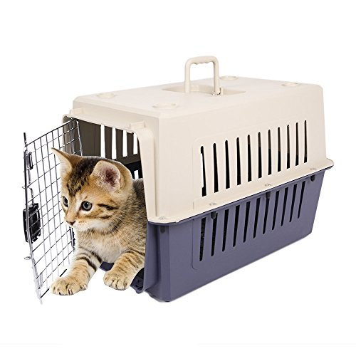 KARMAS PRODUCT 3 Size Plastic Cat & Dog Carrier Cage