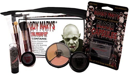 Bloody Mary Ghoul Professional Undead Makeup Kit