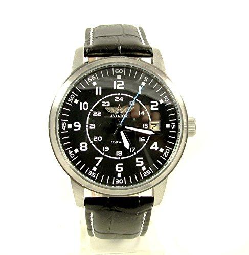 Poljot Aviator Mens Wrist Watch Custom 17 Jewels USSR Rare