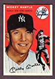 : Mickey Mantle 1954 Topps Design Custom Card (Yankees)