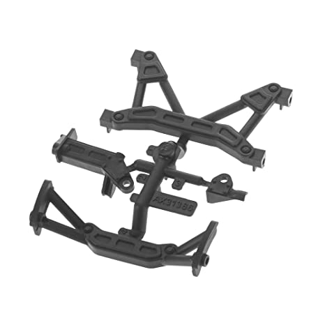 Amazon.com: AXIAL AX31386 Frame Braces SCX10 II Parts: Toys & Games
