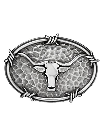 Ariat Oval Steer Head Belt Buckle