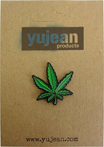 Pot Leaf, Licensed Original Artwork, Expertly Designed ENAMEL PIN - 1