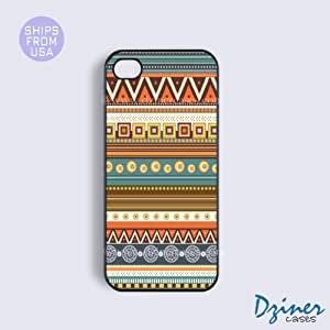 iPhone 6 Tough Case - 4.7 inch model - Indian Art Aztec iPhone Cover