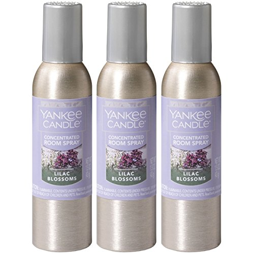 Yankee Candle Concentrated Room Spray 3-PACK (Lilac Blossoms) (Lilac Blossoms)