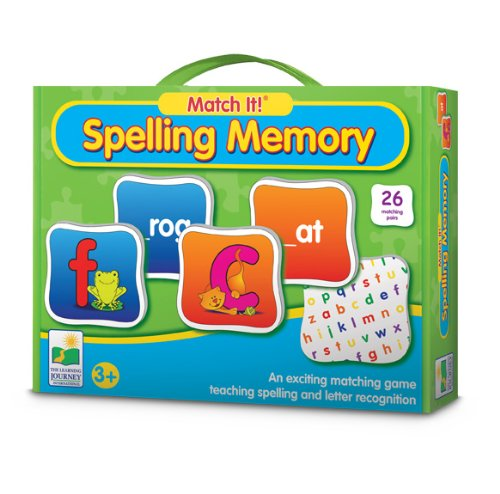 The Learning Journey Match It! Memory, Spelling