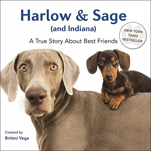 Harlow & Sage (and Indiana): A True Story about Best Friends by Brittni Vega (2-Oct-2014) - Las Vegas Shopping Discount