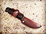 Morakniv Basic 511 Knife & Sheath Combo - Survival Knife and Sheath Combo - Hip Carry - hand tooled by American Made Upgrades