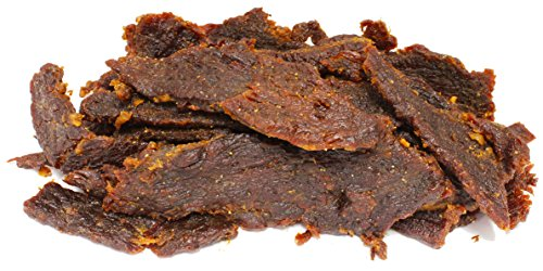People's Choice Beef Jerky - Tasting Kitchen - Orange Honey Teriyaki - Gourmet Handmade Craft Meat Snack - 1 Pound - Jerky Lb 1 Bag