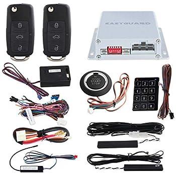 amazon.com: easyguard ec002-v-ns passive keyless entry pke ... gemini car alarm wiring diagram checkmate car alarm wiring diagram